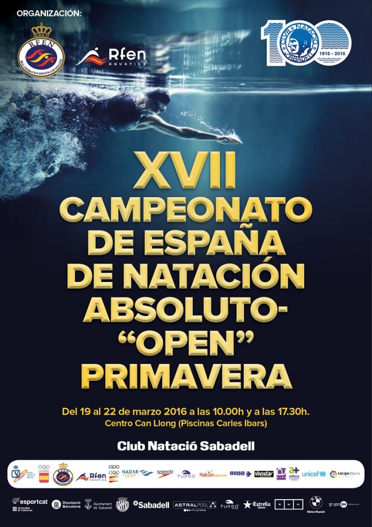 cartel OPEN primavera